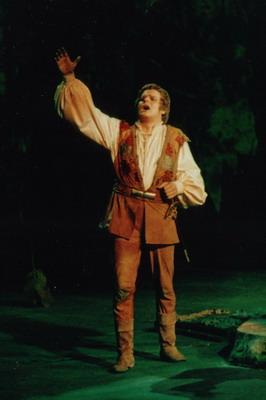 Csongorként - Bozay Attila operájában (Fotó: Mezey Béla)