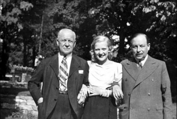 Lehár Ferenc és Kálmán Imre társaságában