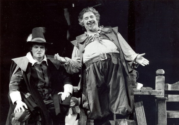 Falstaff, 1992 - partner: Póka Balázs (Fotó: Mezey Béla)
