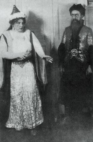 Haselbeck Olgával a premier után