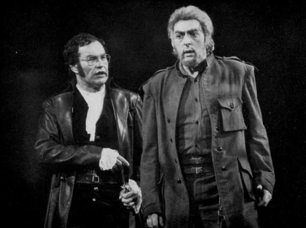 Pizarro szerepében Polgár Lászlóval (Fotó: Mezey Béla)