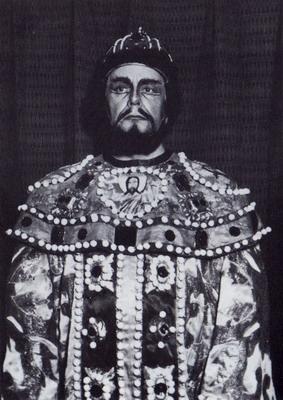 Székely Mihály Borisz Godunovként, 1962