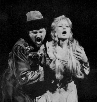 Tokody Ilona és Laczó András a Hovanscsinában, 1984