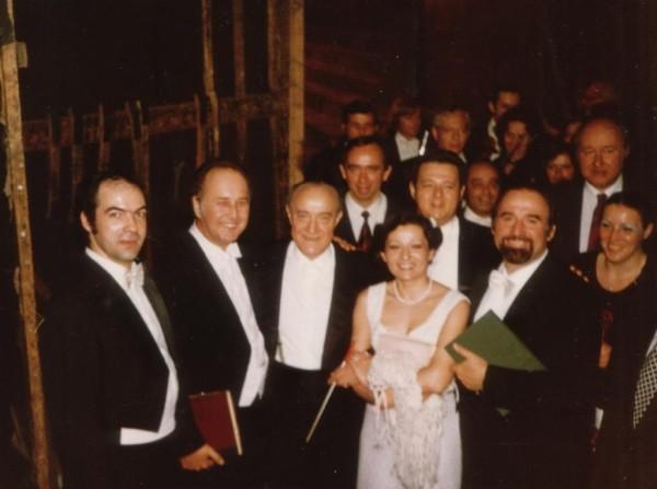 Mesterdalnokok III. felvonás, 1981. (partnerek: Gáti István, Ilosfalvy Róbert, Ferencsik János, Rozsos István, Sólyom-Nagy Sándor)