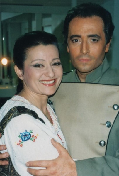 José Carrerasszal a Carmenben