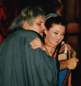 A szegedi Turandotban Gregor Józseffel