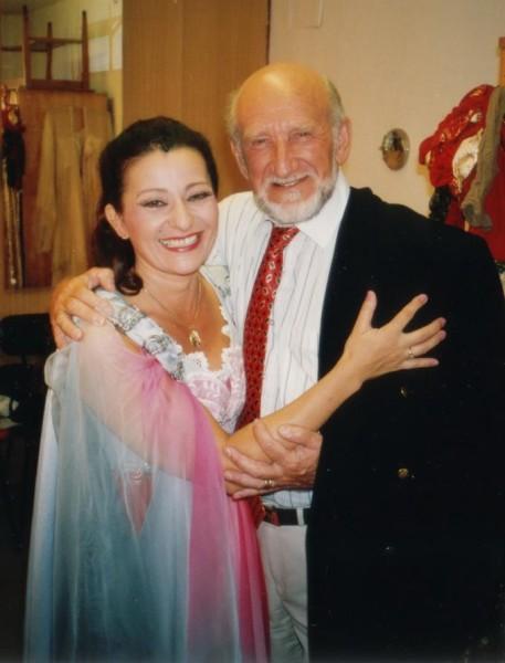 Vámos Lászlóval 1994-ben