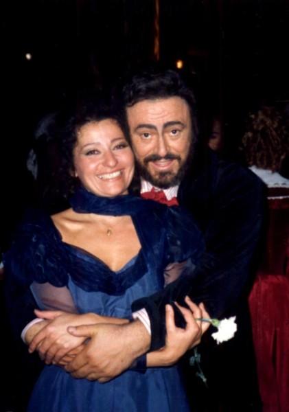Luciano Pavarottival a Bohéméletben