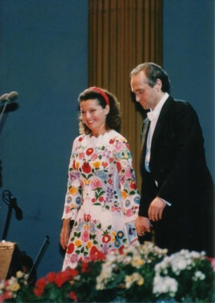 Koncerten José Carrerasszal