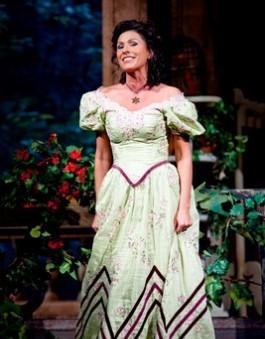Miklósa Erika egy operaházi Don Pasquale-előadáson (Fotó: Budapesti Tavaszi Fesztivál, Kállai-Tóth Anett)