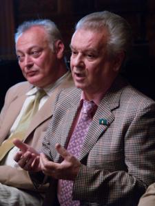 Jurij Szimonov és Hegyi Árpád Jutocsa (Fotó: Éder Vera)