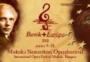 Miskolci Operafesztivál – Bartók+Európa
