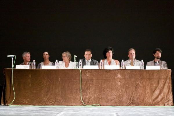 Alkotók és előadók (Fotó: Vermes Tibor)