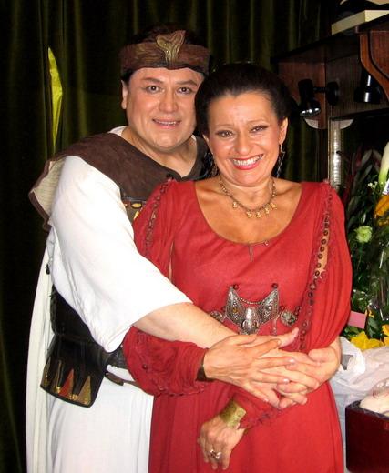 Tokody Ilona és Bándi János (Fotó: Konyha Katalin)