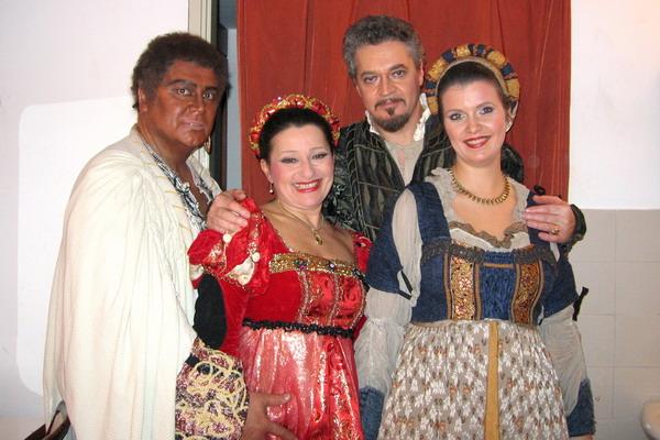 Bándi János, Tokody Ilona, Perencz Béla, Gál Erika (Fotó: Konyha Katalin)