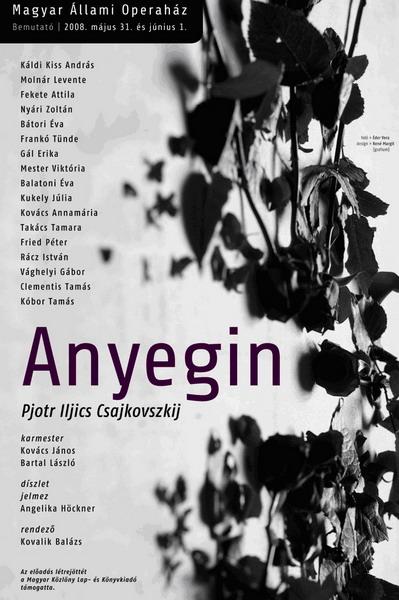 Az Anyegin plakátja