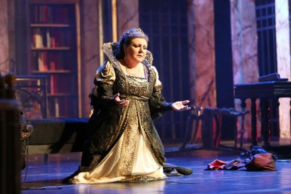 Tosca: Barbara Kubiak (fotó: Marek Grotowski)