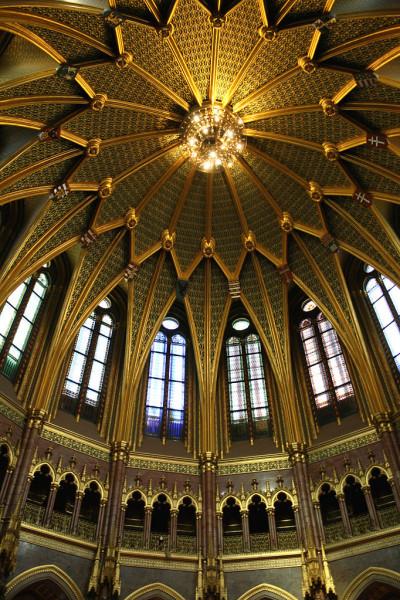 A Parlament kupolacsarnoka
