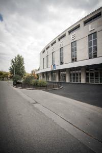 Az Erkel Színház főhomlokzata (fotó: Vermes Tibor)