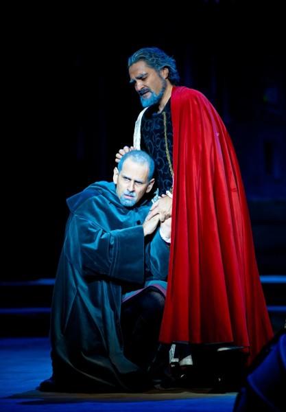 Fiesco és Boccanegra: Stefano Olcese és Vasile Chișiu (fotó: Armel Operafesztivál)