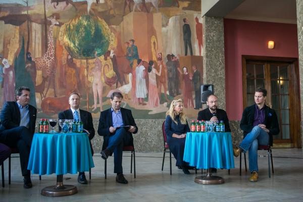 Sajtótájékoztató az Erkel Színház újranyitásáról