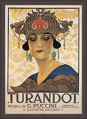 Turandot-plakát