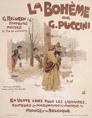 Bohémélet-plakát