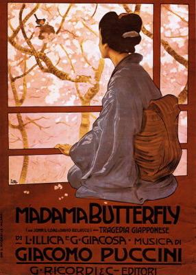 Pillangókisasszony-plakát