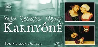 A Karnyóné plakátja