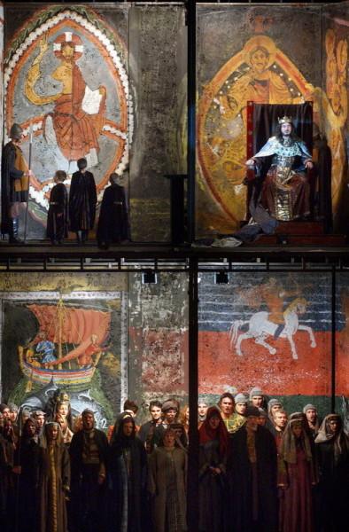 Gábor Géza a király jelenetében