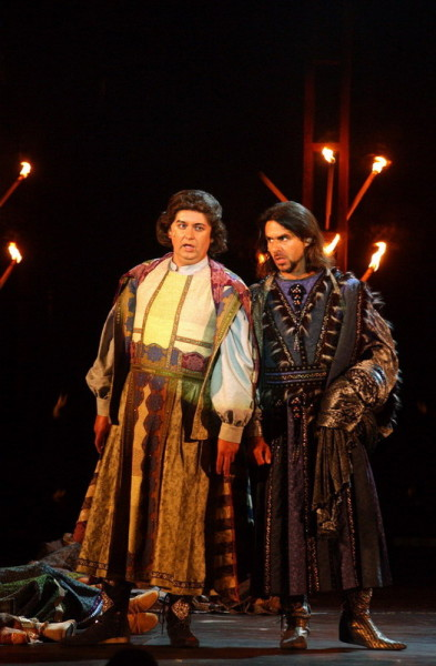 Kovácsházi István és Réti Attila