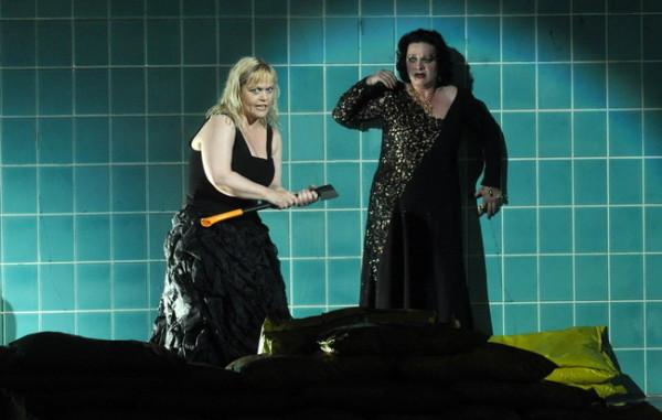 Eva Johansson és Kovács Annamária (Fotó: Éder Vera)