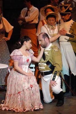 Mitilineou Cleo és Kálmán Péter (Fotó: Éder Vera)