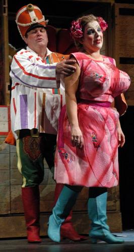 Fülöp Zsuzsanna és Gulyás Dénes a Mavrában (Fotó: Éder Vera)
