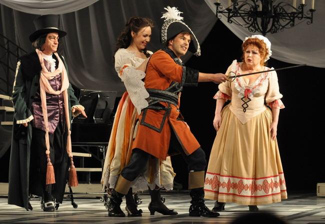 Kováts Kolos, Mester Viktória, Megyesi Zoltán, Pelle Erzsébet (Fotó: Éder Vera)