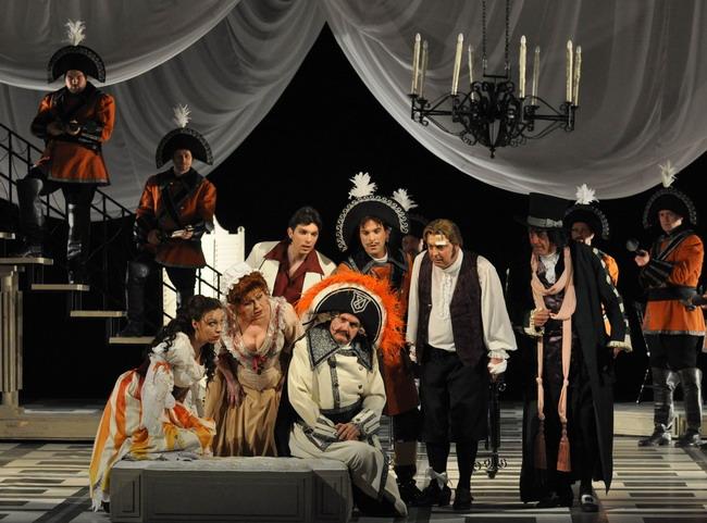 Mester Viktória, Pelle Erzsébet, Gurbán János, Haja Zsolt, Megyesi Zoltán, Egri Sándor, Kováts Kolos (Fotó: Éder Vera)
