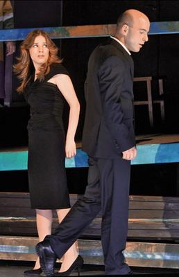 Hajnóczy Júlia és Megyesi Zoltán (Fotó: Éder Vera)