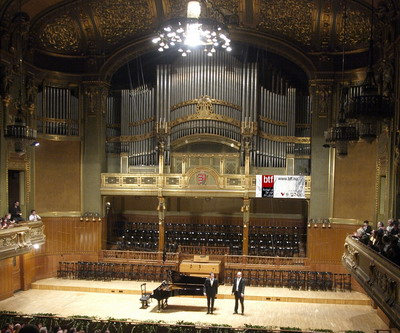 Philippe Jaroussky a Zeneakadémián (fotó: Felvégi Andrea)