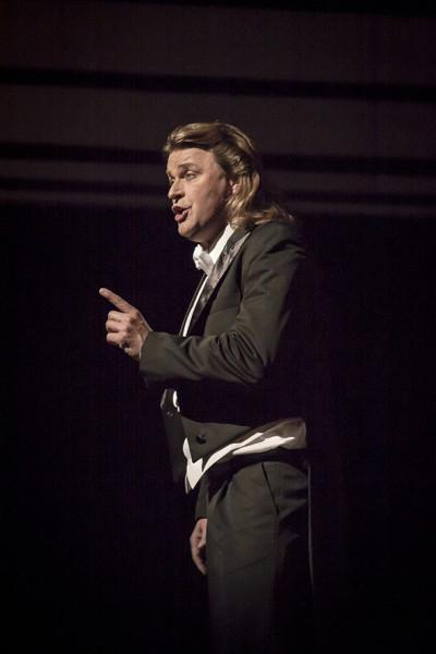Klaus Florian Vogt a Művészetek Palotája tavalyi Mesterdalnokok-előadásán Stolzingi Walther szerepében (fotó: Vermes Tibor)