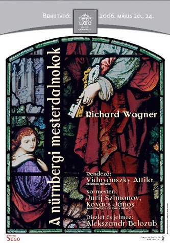 A nürnbergi mesterdalnokok plakátja