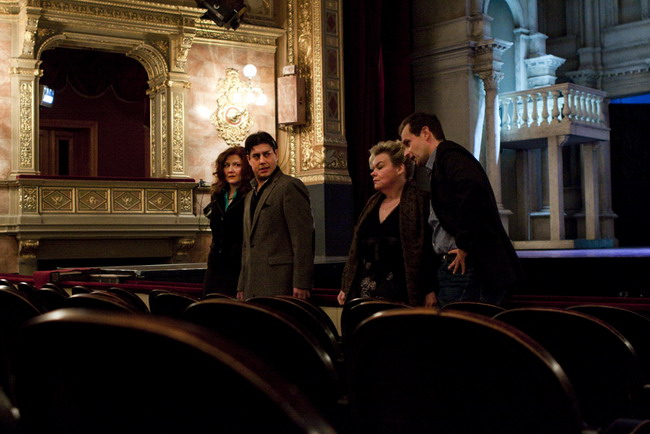 Kvartett: Kolonits Klára, Dovlet Nurgeldiyev, Szabóki Tünde és Horváth Ádám