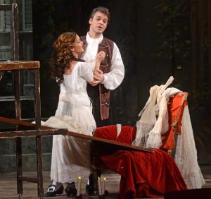 Susanna és Figaro: Keszei Bori és Bretz Gábor (fotó: Éder Vera)