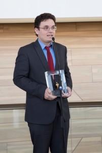 Bóka Gábor a díjátadáson (fotó: Művészetek Palotája, Posztós János)