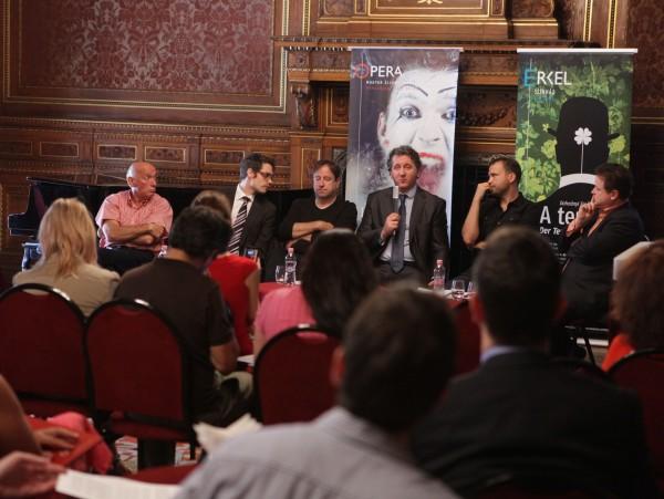 A sajtótájékoztató résztvevői (fotó: Rákossy Péter)