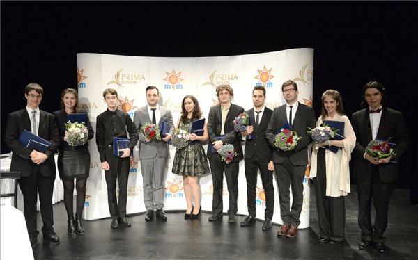 A díjazottak (fotó: Soós Lajos)
