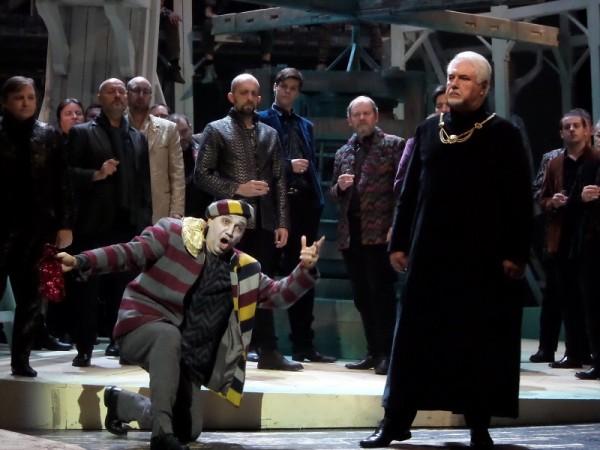 Rigoletto és Monterone: Balla Sándor és Kincses Károly (fotó: Vona Ildikó)