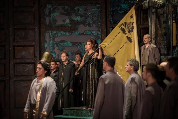 Jelenet az előadásból (fotó: Nagy Attila)