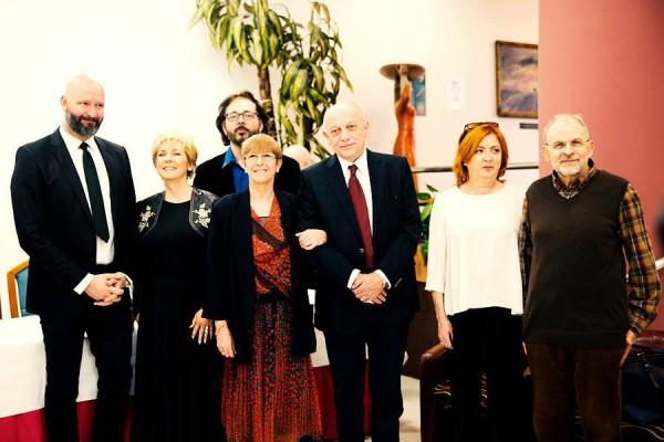 A díjazott művészek (fotó: Harmos-Érdi Réka)