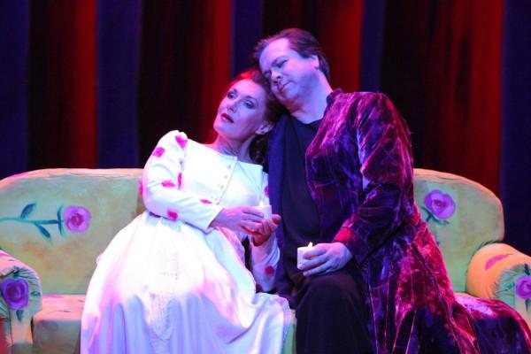 Izolda és Trisztán: Waltraud Meier és Robert Dean Smith (fotó: Bayerische Staatsoper)