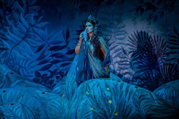 Sába királynője: Gál Erika (fotó: Vermes Tibor)
